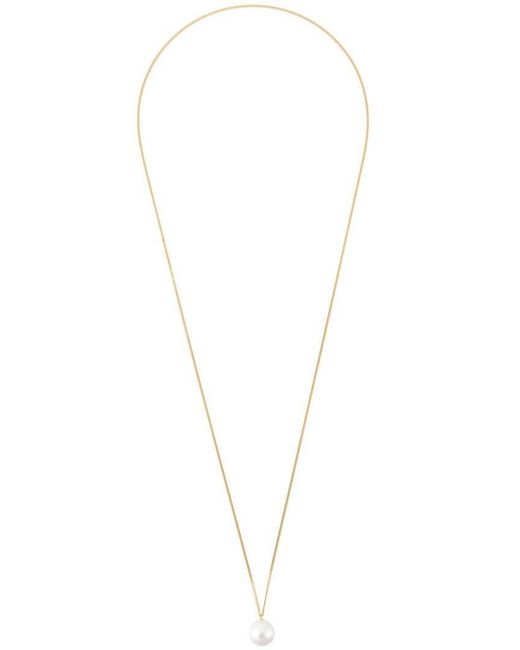 Wouters & Hendrix - Metallic Pearl Long Necklace - Lyst