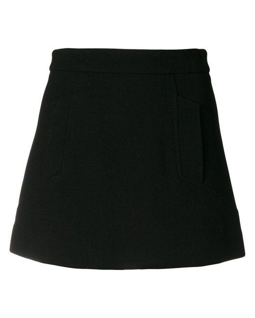 P.A.R.O.S.H. - Black Lachi Skirt - Lyst
