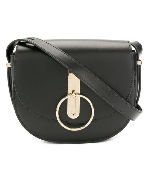 Nina Ricci - Black Compas Saddle Bag - Lyst