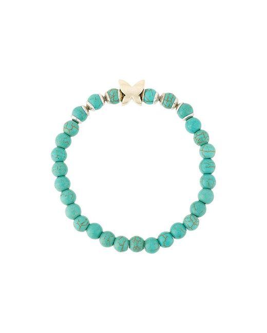 Fefe | Blue Beaded Bracelet | Lyst