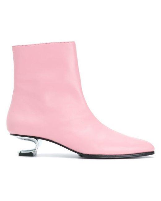 Nicole Saldanã - Pink Yenna Boots - Lyst