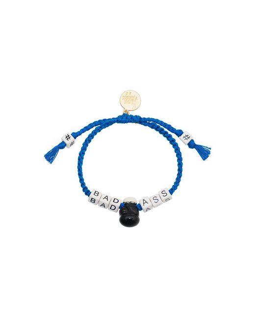 Venessa Arizaga | Blue Badass Slogan Bracelet | Lyst