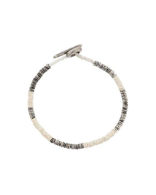 M. Cohen - White Beaded Bracelet - Lyst
