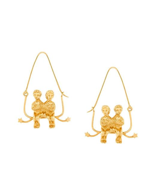 Givenchy - Metallic Couple Earring - Lyst