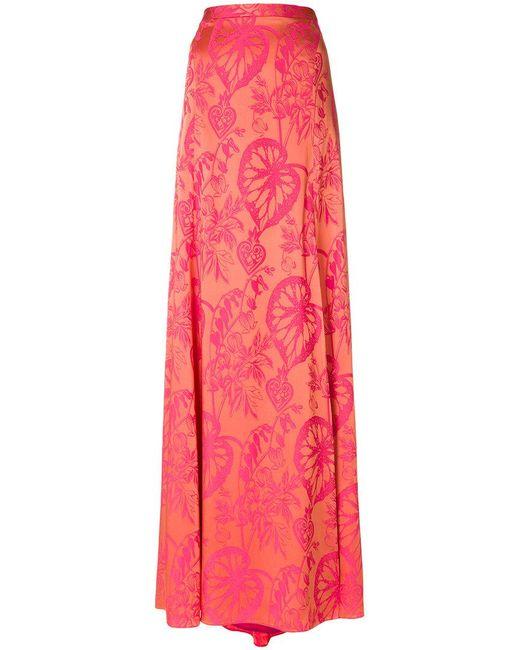 Temperley London - Pink Orbit Skirt - Lyst