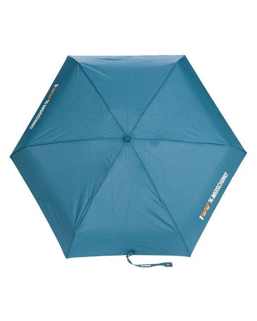 Moschino - Blue 100% Umbrella - Lyst