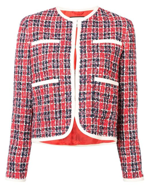 Gucci Red Tweed Jacket
