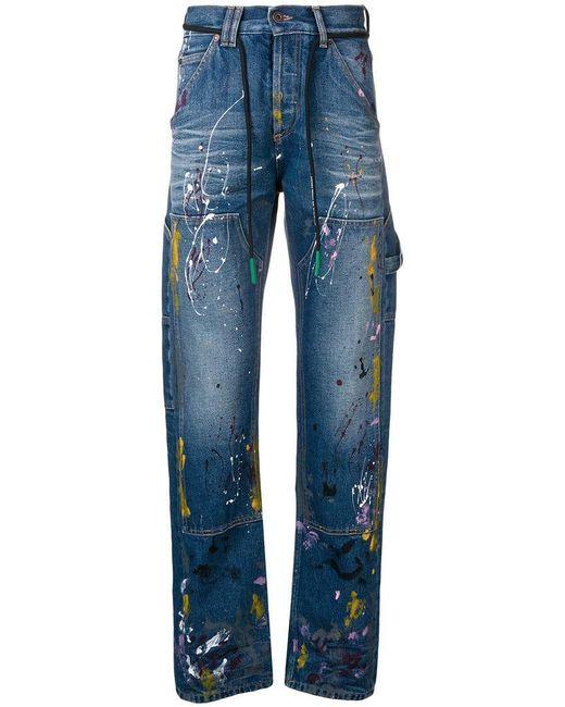 613327c8d3f Off-White c o Virgil Abloh - Blue Carpenter Jeans for Men - Lyst ...