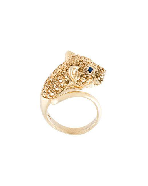 Iosselliani | Metallic 'silver Heritage' Cheetah Ring | Lyst