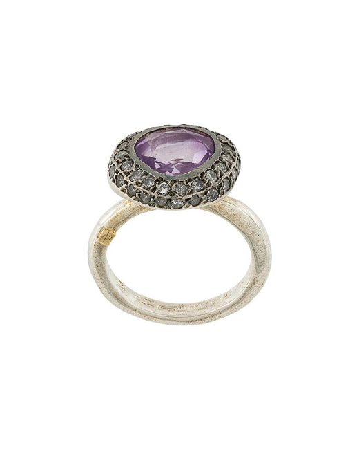 Rosa Maria - Metallic Ametrine And Diamond Ring - Lyst