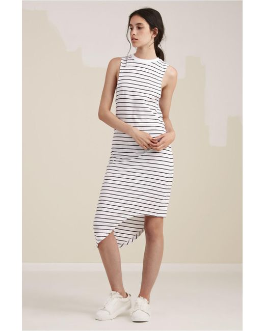 The Fifth Label - White Nothing To Chance Dress - Lyst