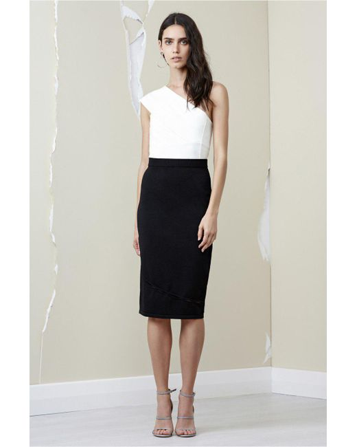 Finders Keepers - Black Ainsley Knit Skirt - Lyst