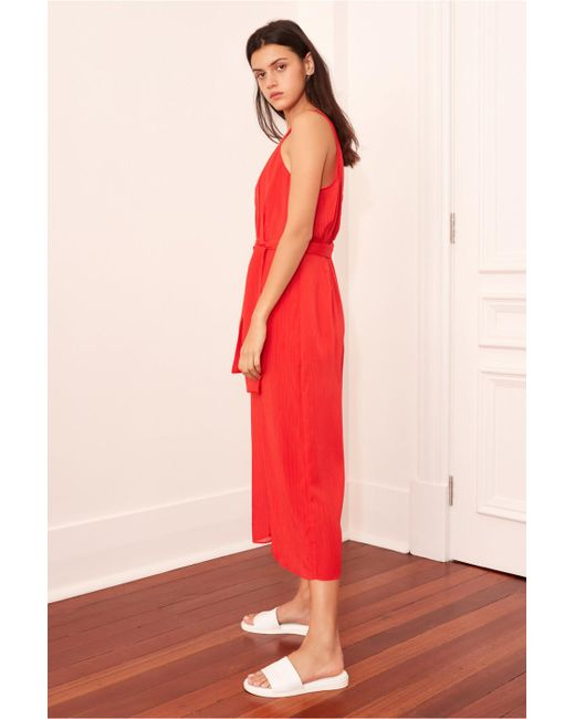 67875aecf66 ... The Fifth Label - Red Gilded Jumpsuit - Lyst ...