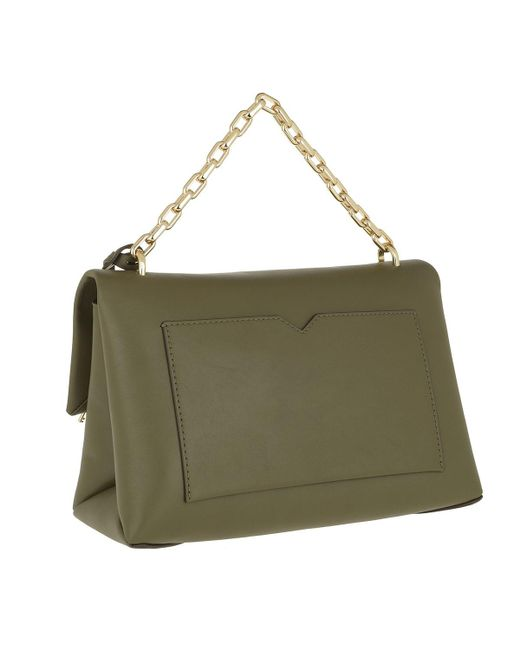 1b5eff3589 ... Michael Kors - Green Cece Large Chain Shoulder Bag Olive - Lyst ...
