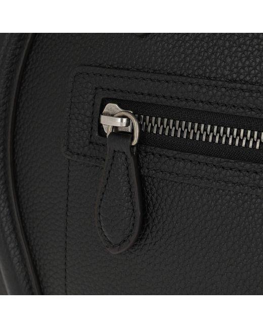5c730bdefe2c ... Céline - Micro Luggage Calfskin Tote Black - Lyst ...