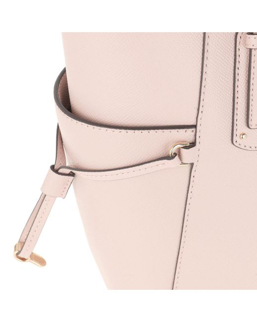 be6e8b1c5e2bef Michael Kors Voyager Ew Tote Soft Pink in Pink - Save 40% - Lyst