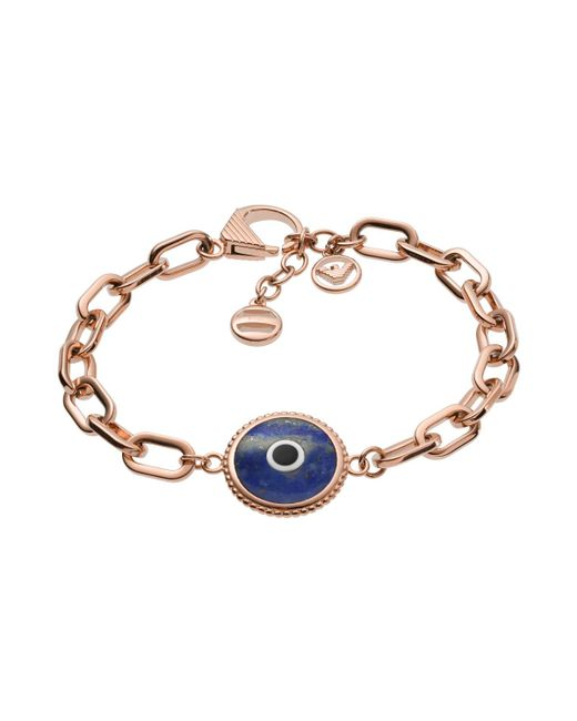 Emporio Armani - Multicolor Egs2527221 Ladies Fashion Bracelet Rosegold - Lyst