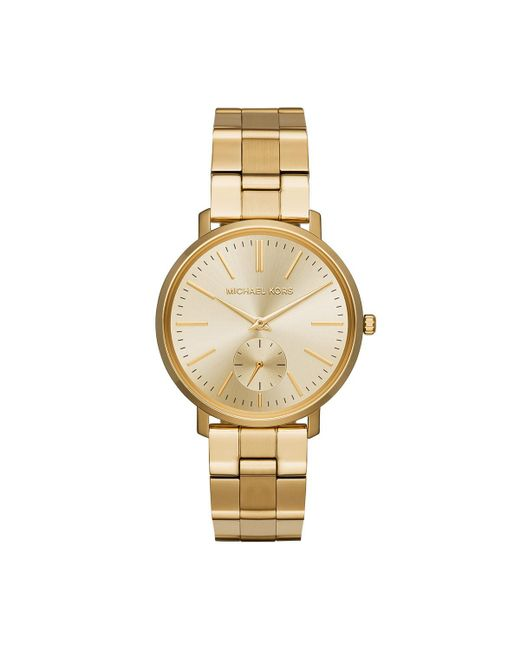 Michael Kors - Metallic Mk3500 Ladies Jaryn Watch Gold - Lyst