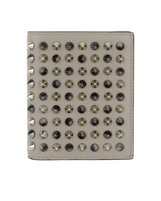 Christian Louboutin | Gray Paros Wallet Grey | Lyst