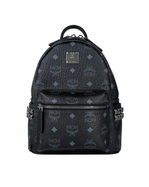 8279da89de82 MCM Stark Backpack Mini Black in Black - Lyst