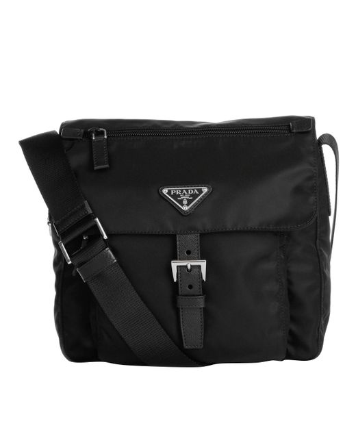 Prada - Multicolor Vela V Cargo Crossbody Bag Nero - Lyst