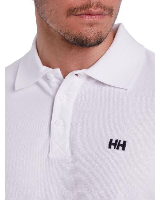 Helly Hansen   White Transat Polo for Men   Lyst