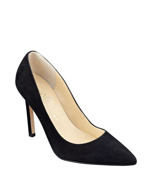Ivanka Trump | Black Carra Pointed-toe Pumps | Lyst