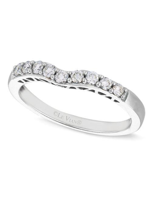Le Vian | Diamond Diamond Wedding Band (1/4 Ct. T.w.) In 14k White Gold | Lyst