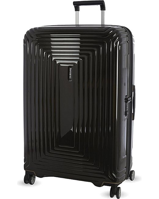 Samsonite | Black Neopulse Four-wheel Spinner Suitcase 81cm for Men | Lyst