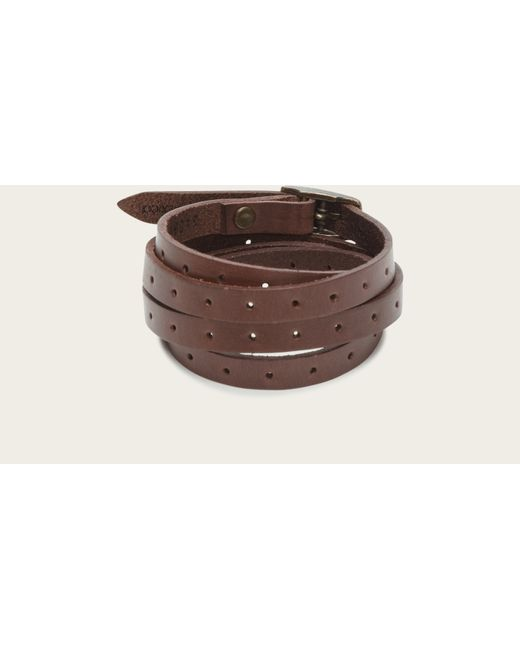 Frye | Brown Perfed Wrap Cuff | Lyst