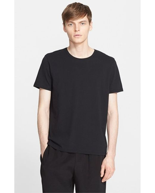 ATM | Black Cotton Jersey T-shirt for Men | Lyst
