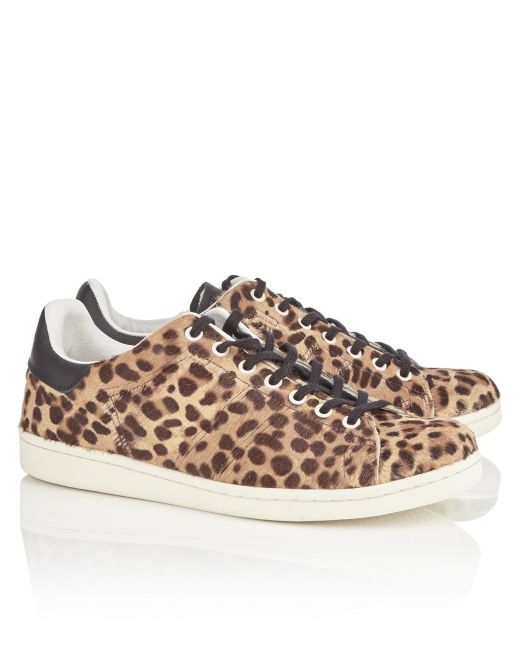 replica mens louis vuitton shoes - Isabel marant ��toile Leopard Sneakers in Animal - Save 61% | Lyst