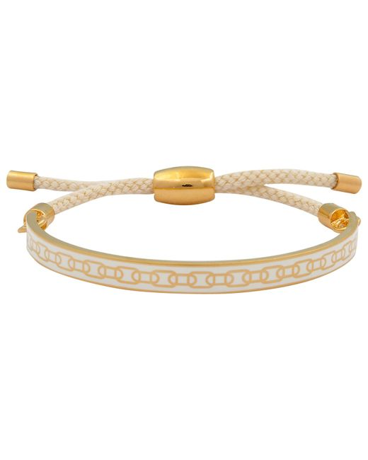 Halcyon Days | Metallic 18ct Gold Plated Friendship Skinny Chain Bracelet | Lyst
