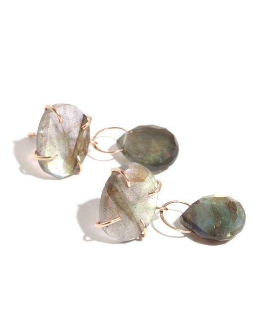 Melissa Joy Manning | Metallic Labradorite Dangle Earrings | Lyst