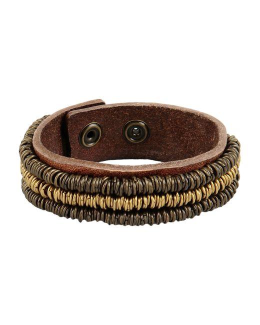 Replay   Brown Bracelet   Lyst