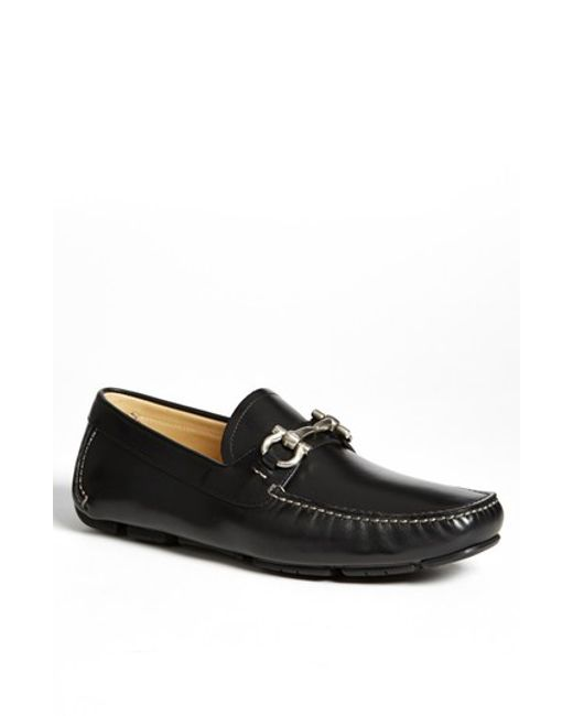 Ferragamo | Black 'parigi' Moccasin for Men | Lyst