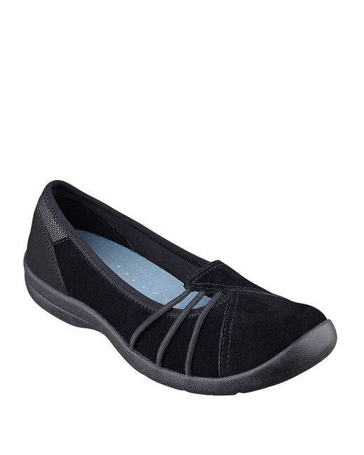 Easy Spirit | Black Kaali Suede Flats | Lyst