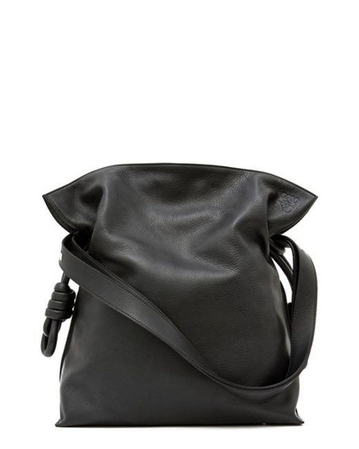 Loewe | Black 'flamenco Knot' Calfskin Leather Bag | Lyst