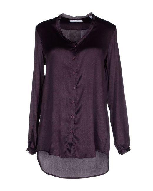 Aglini Shirt in Purple (Dark purple) - Save 60% | Lyst