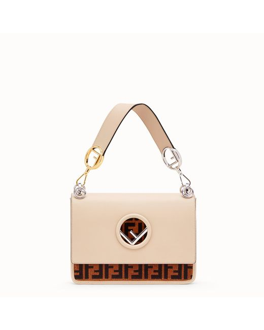 Fendi - Natural Kan I F Bag - Lyst