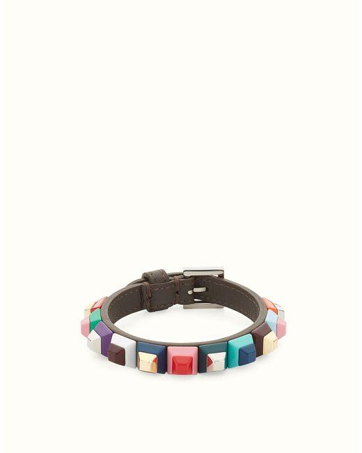 Fendi | Multicolor Rainbow Bracelet Rainbow Bracelet | Lyst