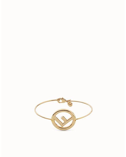 Fendi | Metallic F Is Bracelet F Is Bracelet | Lyst