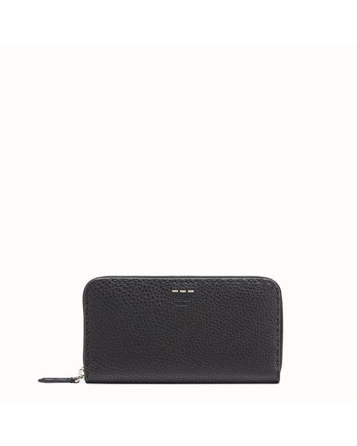 Fendi - Black Wallet Wallet - Lyst