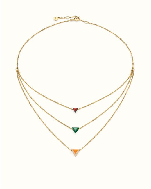 Fendi | Multicolor Rainbow Necklace Rainbow Necklace | Lyst