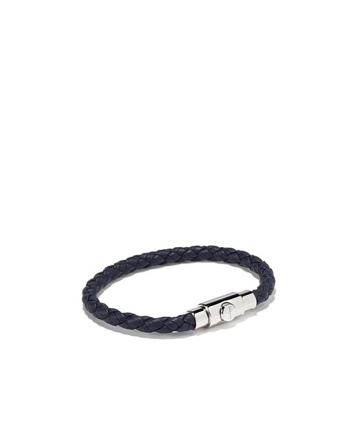 Ferragamo | Blue Woven Bracelet for Men | Lyst