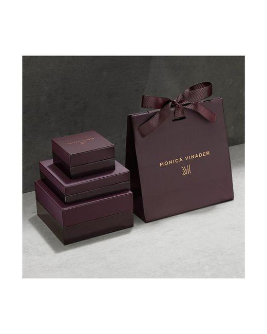 Monica Vinader | Pink Baja Mini Bracelet - Diamond | Lyst