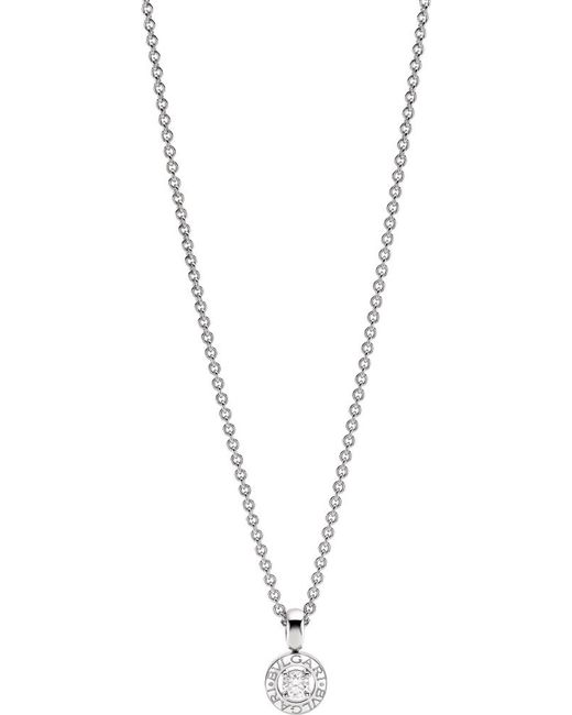 BVLGARI | - 18kt White-gold And Diamond Necklace | Lyst