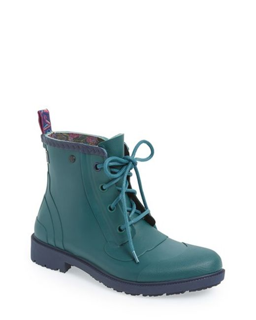Ted Baker | Green 'epsalo' Cap Toe Boot for Men | Lyst