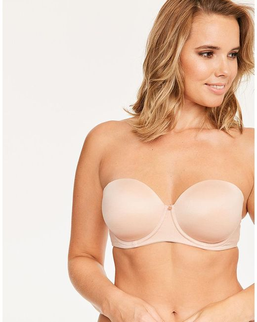 Figleaves - Natural Smoothing Multiway Balcony Bra B-g Cup - Lyst