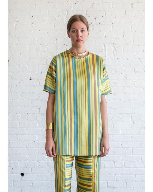 Nikki Chasin | Mini Alma Dress Yellow Multi | Lyst